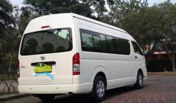 Sewa Toyota Hiace Commuter full