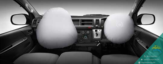 airbags toyota hiace