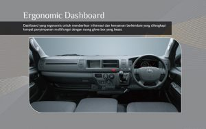 dashboard toyota hiace