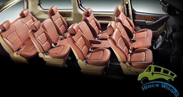 Interior Hyundai H1 Yang Mewah | HIACE WISATA
