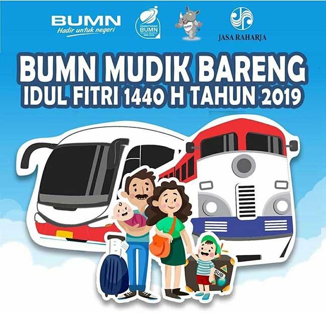 Mudik Gratis Bareng BUMN  lebaran 2019