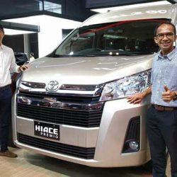 All New Toyota Hiace Premio