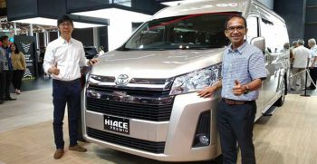 All New Toyota Hiace Premio