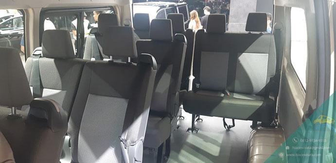 Interior ALL New Toyota Hiace Premio