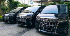 Sewa Toyota Alphard Transformer