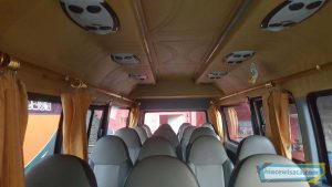 interior Isuzu Elf Long 19 Seat