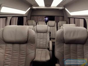 Interior Kursi Hiace Luxury