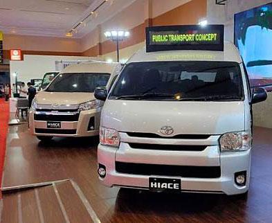 Toyota Hiace Jadi Angkot