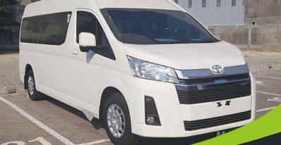 sewa Toyota Hiace Premio