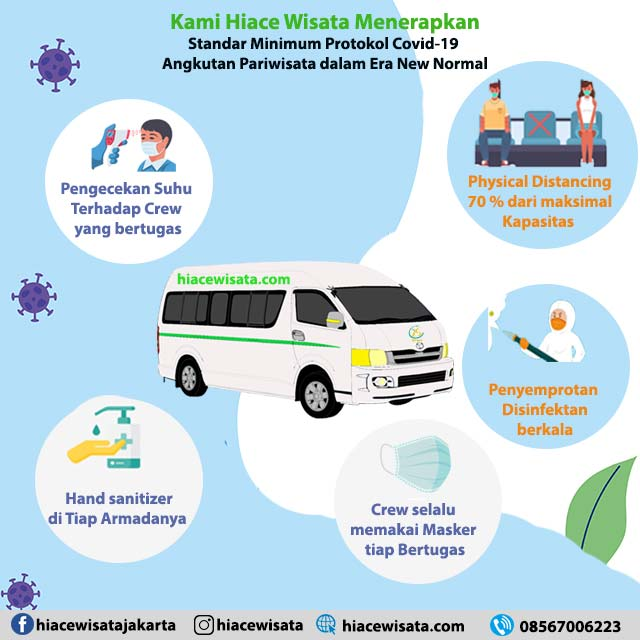 sewa hiace new normal